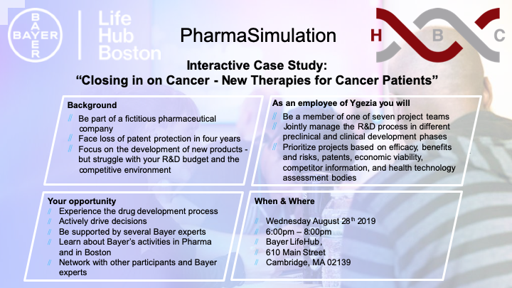 HBC - Bayer Life Hub Simulation | Career & Professional
